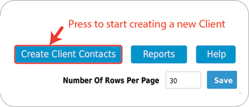 Create Client Contacts Button